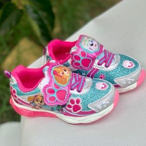 Paw Patrol Toddler Girls Light Up Athletic Shoe